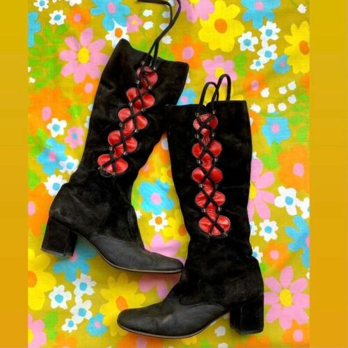 1960s go go boots