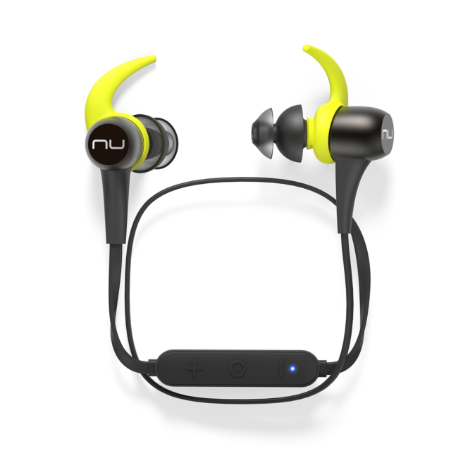 NuForce BE Sport3 Wireless Bluetooth in-Ear Headphones for Sports with aptX, AAC
