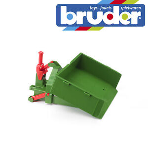 Bruder-Tractor-Accessory-Movable-Load-Case-Kids-Farm-Toy-Model-Scale-1-16