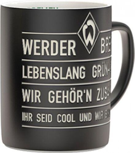 """SV Werder Bremen Tasse /""""Hymne/"""""""