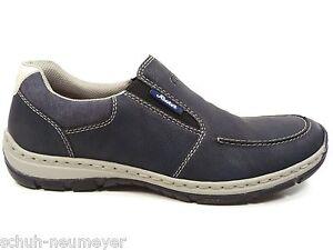 Rieker-Herrenschuhe-Halbschuhe-Sneakers-Slipper-in-Blau-15260-14
