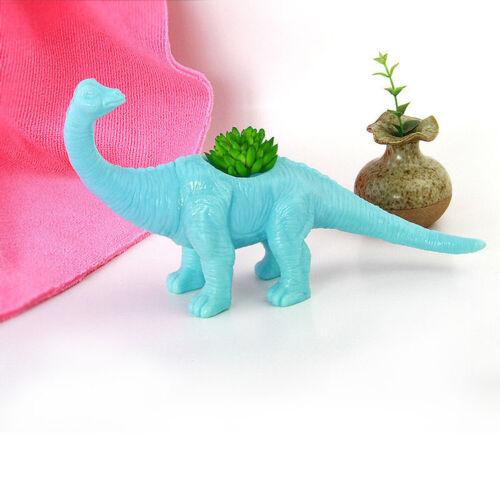 Plastic dinosaur animal flower pot Cactus succulent Plant Pot Flower bonsai NWUS