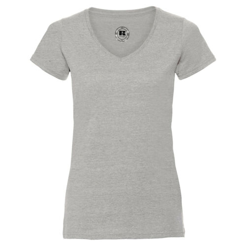 Russell Ladies V-Neck HD T Damen T-Shirt extra langer Schnitt Sublimation