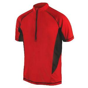 Endura Men s Cairn S S Mountain Bike Cycling Jersey RED SMALL New  91f852262