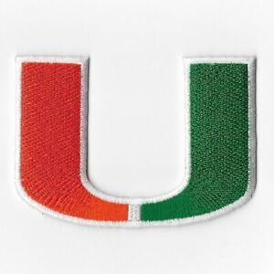 NCAA-Miami-Hurricanes-Football-Iron-on-Patches-Embroidered-Patch-Applique-Badge