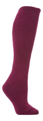 Women/'s Long Knee High Thermal Socks Heat Holders 4-8 uk 37-42 eur 5-9 usa