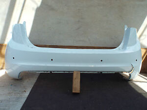 HYUNDAI-ELANTRA-2013-ON-FACELIFT-REAR-BUMPER-GENUINE-WHITE-3571