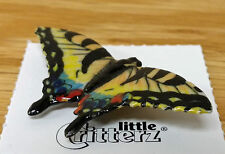 ➸ LITTLE CRITTERZ Insect Miniature Figurine Swallowtail Butterfly Tiger