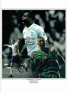d59fd5aed Image is loading Gareth-BALE-amp-Heurelho-GOMES-Signed-SPURS-Autograph-