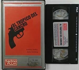 Al-tropico-del-cancro-VHS-Techno-Film-Usato-Ex-Noleggio