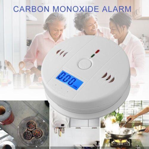 CO Carbon LCD Monoxide Poisoning Sensor Alarm Warning Detector Tester Sensor