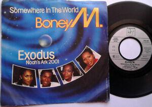 Boney-M-Somewhere-In-The-World-Exodus-7-034-Vinyl-Single-1984