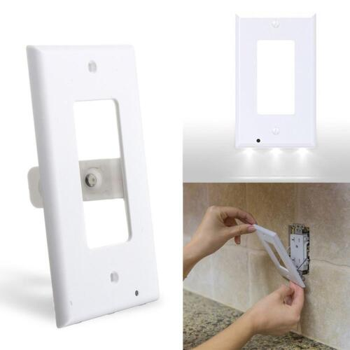 Duplex Night Angel Light Sensor LED Plug Cover Wall Outlet Cover plate Best