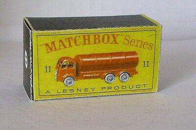 Repro Box Matchbox 1:75 Nr.11 Road Tanker Auto- & Verkehrsmodelle Modellbau