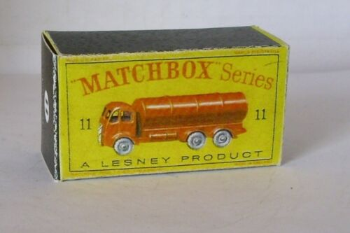 Repro box Matchbox 1:75 nº 11 Road petrolero