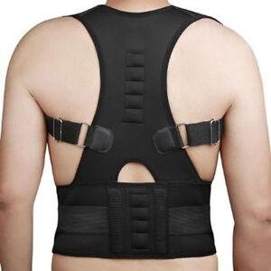 sur des coups de pieds de prix plancher réflexions sur Détails sur 746| ceinture lombaire-magnétique-correcteur  dos-corset-ceinture-orthopédique
