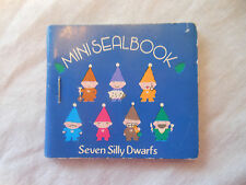 Sanrio SEVEN SILLY DWARFS MINI SEAL BOOK stickers 1979 unused