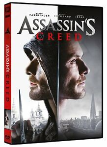 ASSASSIN-039-S-CREED-DVD-CON-JEREMY-IRONS-CHARLOTTE-RAMPLING-BRENDAN-GLEESON
