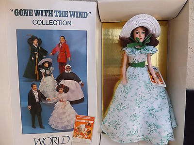 Scarlett Green Print Gone With The Wind World Doll 1989 Limited Edition NRFB MIB