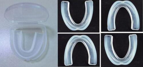 Zahnschutz Zahnschiene Mundschutz Oberkiefer Kontaktsport Mouthguard mit Box