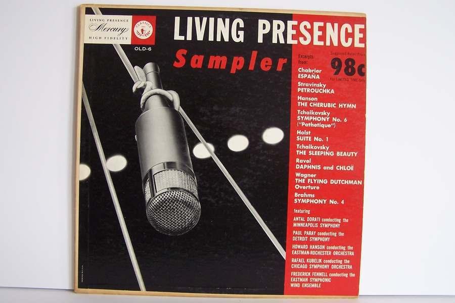 Various - Living Presence High Fidelity Sampler Vinyl L