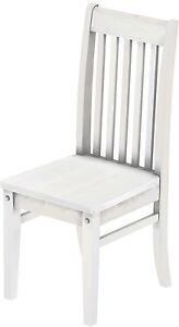 Das Bild Wird Geladen Esszimmer  Stuhl Weiss Classic Pinie Weiss Massiv Kueche