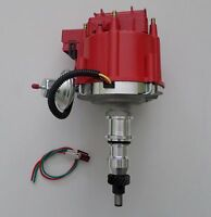 Ford Inline 6 Cylinder 1965-1986 240 & 300 Hei Distributor Straight Six 6 Red