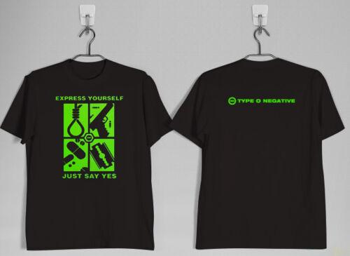 TYPE O NEGATIVE 1997 Green Men Vintage black t-shirt shirts tee XS-3XL