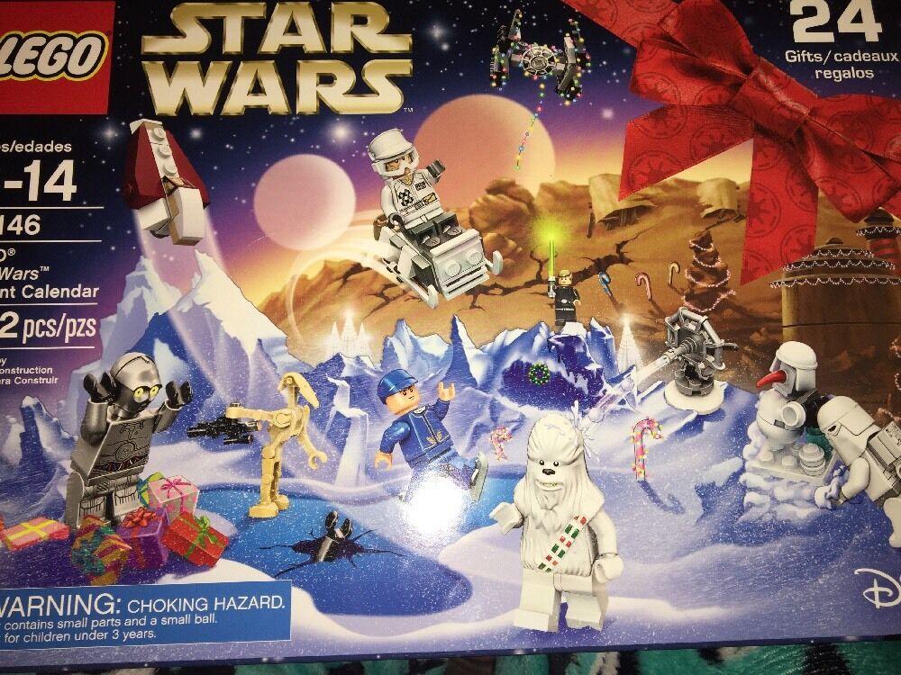STAR WARS LEGO ADVENT CALENDAR 6-14 Enfants  282PC 75146 NEUF 24 cadeaux  bonne réputation