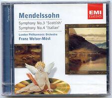 MENDELSSOHN Symphony No 3 WELSER-MOST 2001 CD -- FULL DIGITAL