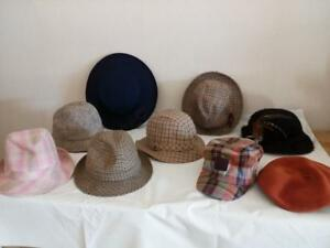 Job-ot-Designer-Hats-Men-039-s-Women-039-s-Unisex-New-And-Used-lot5