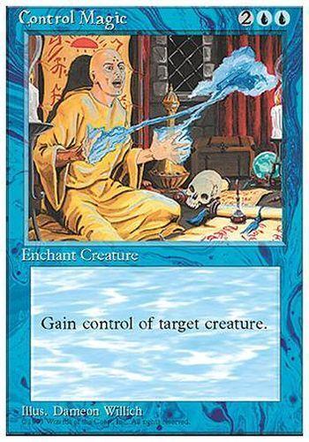Control Magic ▼▲▼ Contrôle magique 4th #64 FRENCH Magic MTG