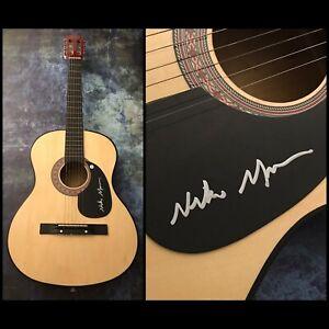 GFA Good Time & Paradise to Me NIKO MOON Signed Acoustic Guitar PROOF N4 COA