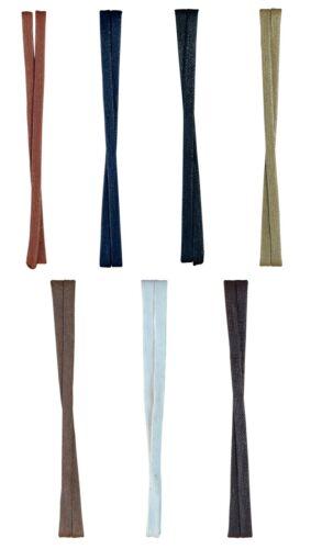 BLUE REEF LACETS plat Chaussure boot trainer 7 mm WAXED COTON bleu marron noir 2020