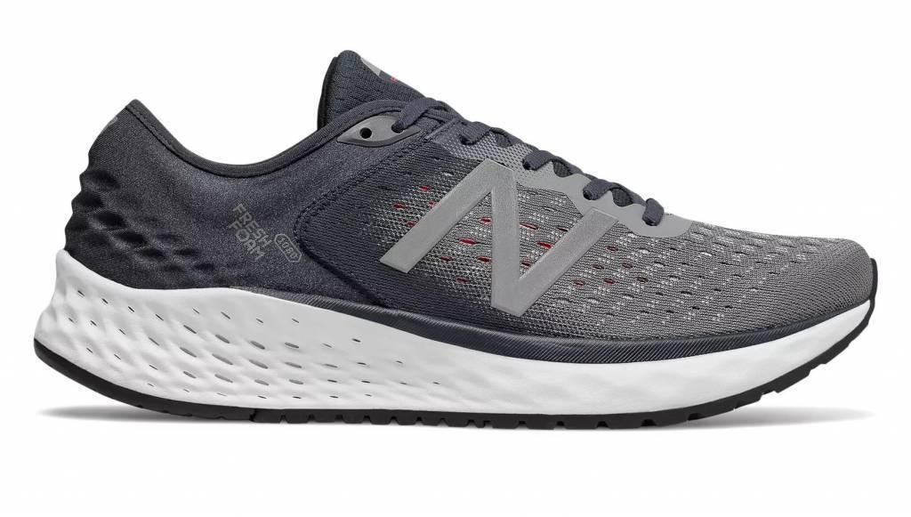 Para Hombre Fresh Foam New Balance 1080v9 Running zapatos gris blancoo Rojo M1080GR9