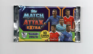Match Attax Extra 2015/16 Booster Packs New & Sealed
