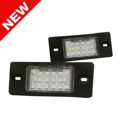 18-SMD LED License Plate Light Lamp For Porsche Cayenne 2002-2010