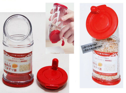 Easy Slicky Sesame Seed Grinder Salt Grain Mill Bean Sliding Device Cooking Tool