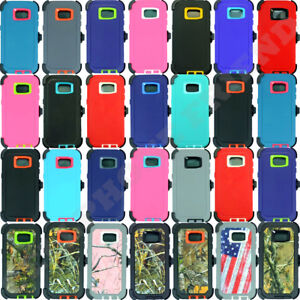 quality design 5ae4b caf76 Details about For Samsung Galaxy (S7/S7 Edge) Case (Belt Clip Holster Fits  OtterBox Defender)