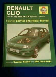 renault clio 1991 1998 full service repair manual