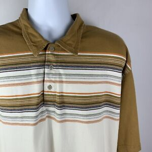 The-North-Face-A5-Series-Men-s-Short-Sleeve-Striped-Polo-Shirt-Size-XXL-2XL