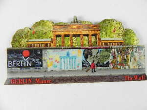 Berlin-Mauer-Wall-Gallery-Holz-Souvenir-Magnet-Germany-Deutschland-Neu