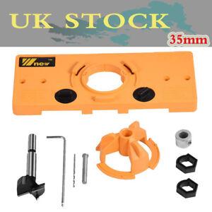 Concealed Hinge Jig Boring Hole Drill Guide Cutter Bit Set Kits for Kreg System 654936568280