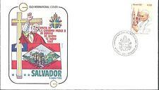 BRESIL env. PAPE JEAN PAUL II VISITE à Salvador 1980 / POPE JOHN PAUL II Brazil