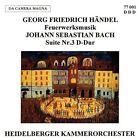 Haendel Bach J S Feuerwerksmusik Suite 3 BWV 1 CD