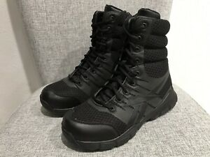 reputable site 64d70 08293 Details about New Reebok Dauntless Ultra-Light 8 Tactical Military Boot  Zipper Black RB8720
