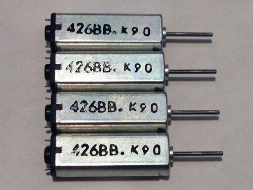 2 Pcs K9C 3V-3.7V DC Strong Magnetic High Speed Mini DC Motor 426BB 25000RPM