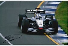 David Coulthard Hand Signed F1 West McLaren Mercedes 12x8 Photo.