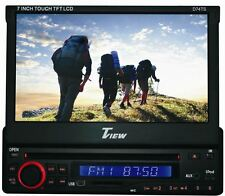 """TView D74TS 7"""" In-Dash Car Stereo Monitor DVD/CD USB Player Receiver+Bluetooth"""