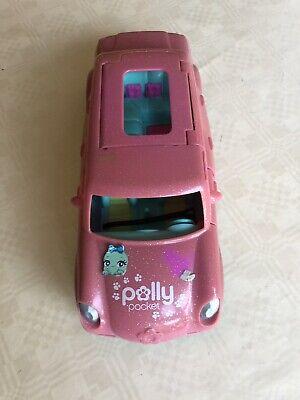 Onestà Poly Pocket Rosa Auto Convertibile-mostra Il Titolo Originale